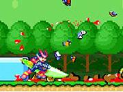 Megaman in Mario World